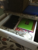 "My ""business"" drawer."