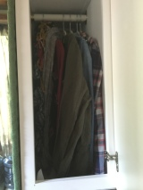 It's not full-length, but I have hanging space!